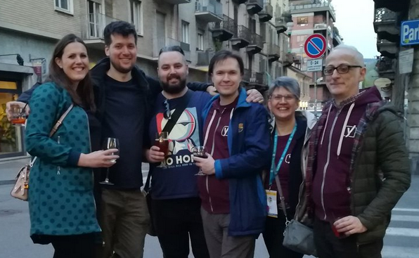 Yoast Team at Torino for wctrn 2019