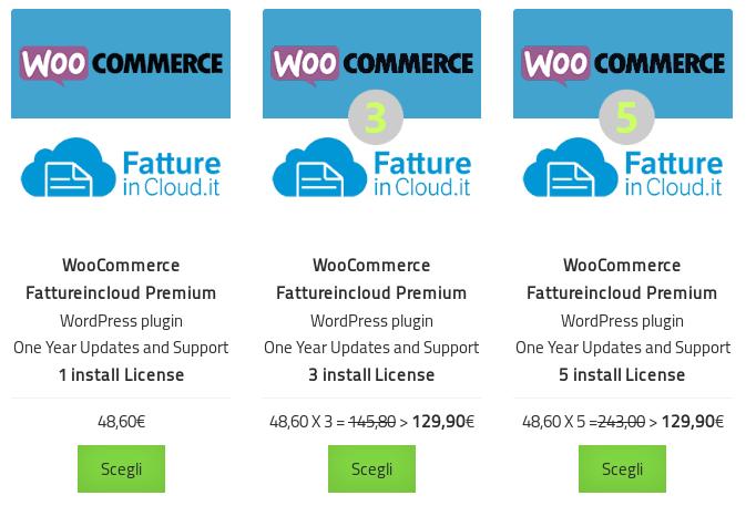 WooCommerce Fattureincloud Premium 2.0